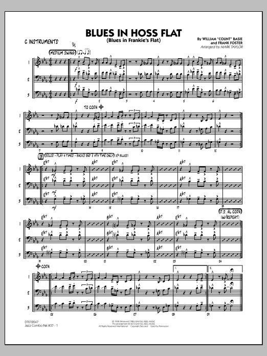 Jazz Combo Pak #37 (Count Basie) - C Instruments (Jazz Ensemble)