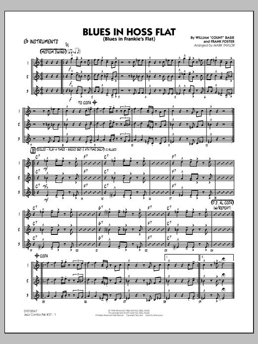Jazz Combo Pak #37 (Count Basie) - Eb Instruments (Jazz Ensemble)
