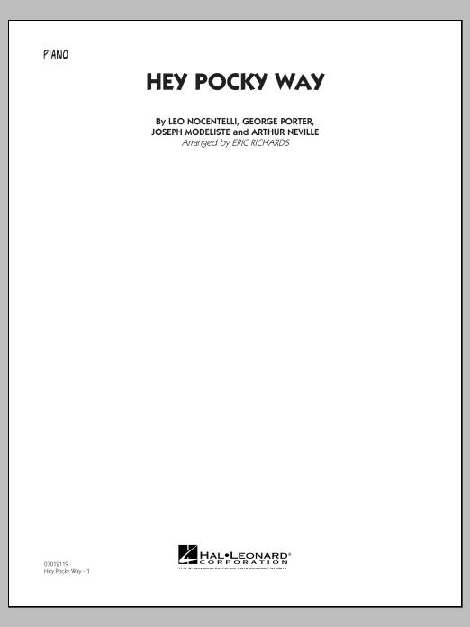 Hey Pocky Way - Piano (Jazz Ensemble)