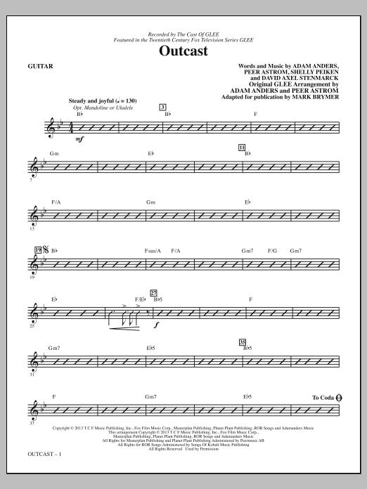 Outcast - Guitar (Choir Instrumental Pak)