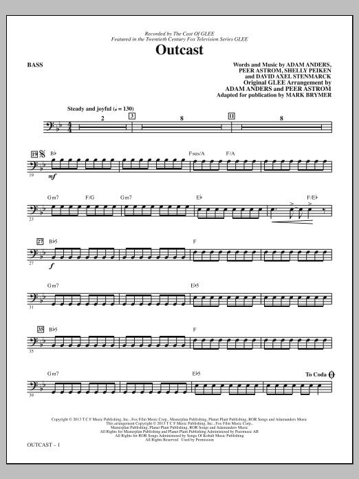 Outcast - Bass (Choir Instrumental Pak)