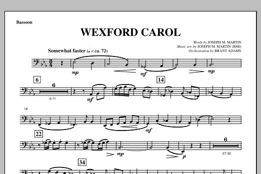Wexford Carol (from A Symphony Of Carols) - Bassoon (Choir Instrumental Pak)