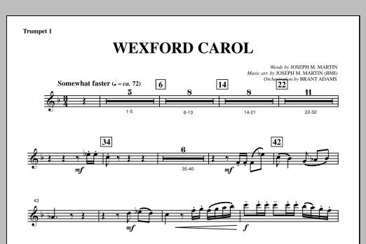 Wexford Carol (from A Symphony Of Carols) - Bb Trumpet 1 (Choir Instrumental Pak)