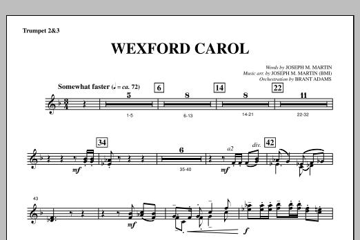 Wexford Carol (from A Symphony Of Carols) - Bb Trumpet 2,3 (Choir Instrumental Pak)