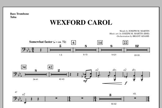 Wexford Carol (from A Symphony Of Carols) - Bass Trombone/Tuba (Choir Instrumental Pak)