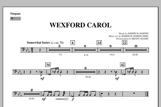 Wexford Carol (from A Symphony Of Carols) - Timpani (Choir Instrumental Pak)