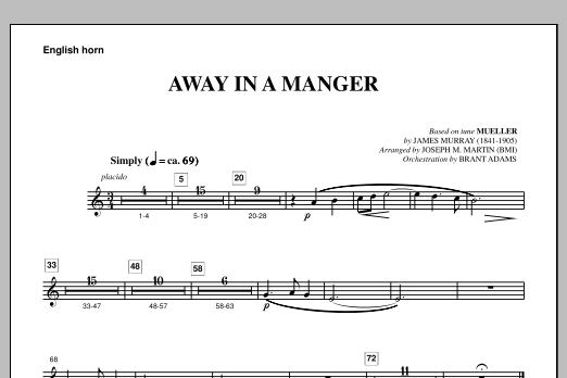Away In A Manger (from A Symphony Of Carols) - English Horn (Choir Instrumental Pak)