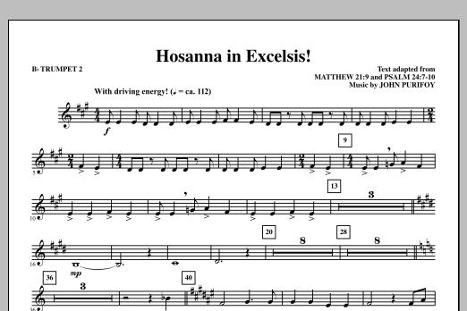Hosanna in Excelsis! - Bb Trumpet 2 (Choir Instrumental Pak)