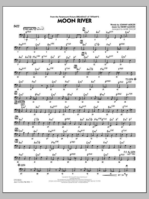 Jazz Combo Pak #36 (Henry Mancini) - Bass (Jazz Ensemble)