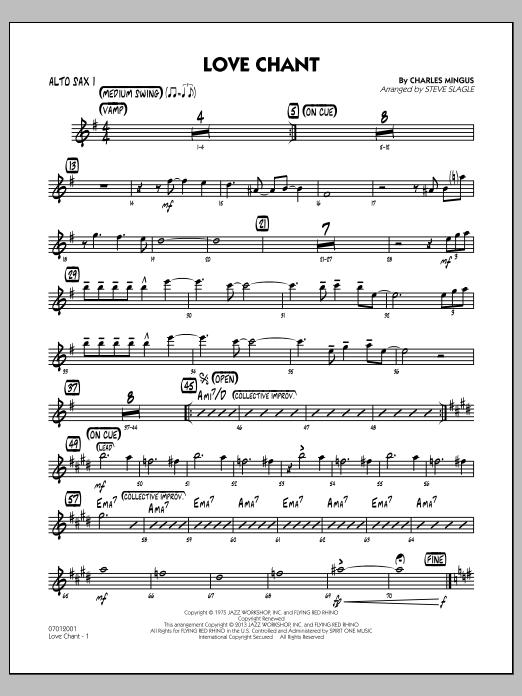 Love Chant - Alto Sax 1 (Jazz Ensemble)