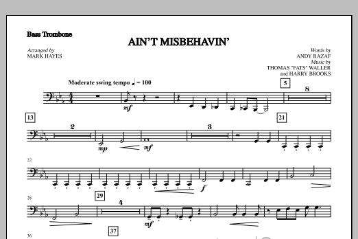 Ain't Misbehavin' - Bass Trombone (Choir Instrumental Pak)
