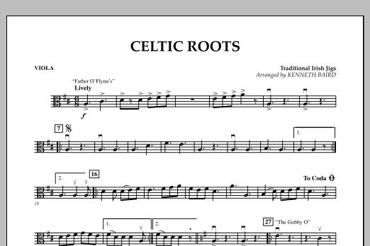 Celtic Roots - Viola (Orchestra)
