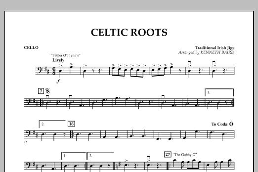 Celtic Roots - Cello (Orchestra)