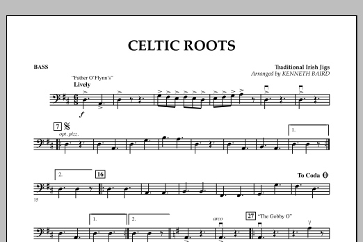 Celtic Roots - Bass (Orchestra)