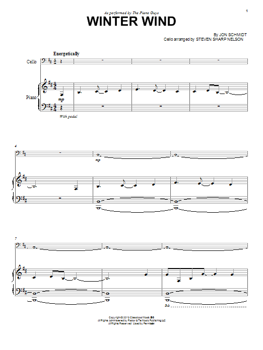 Winter Wind | Sheet Music Direct