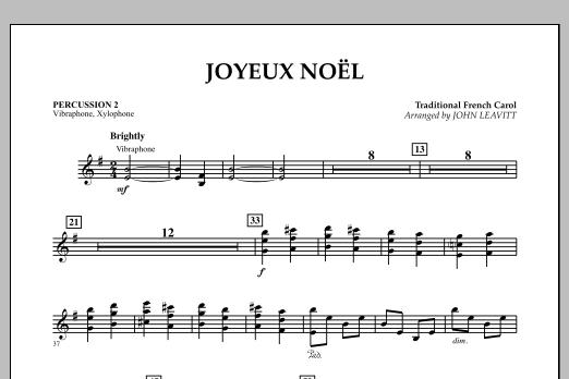 Joyeux Noel - Percussion 2 (Orchestra)