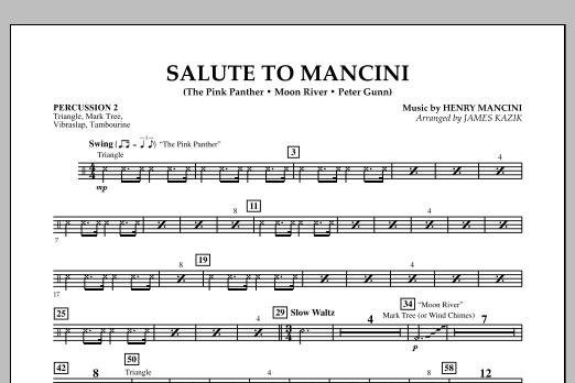 Salute to Mancini - Percussion 2 (Orchestra)