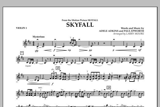 Skyfall - Violin 1 (Orchestra)