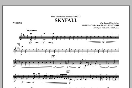 Skyfall - Violin 2 (Orchestra)