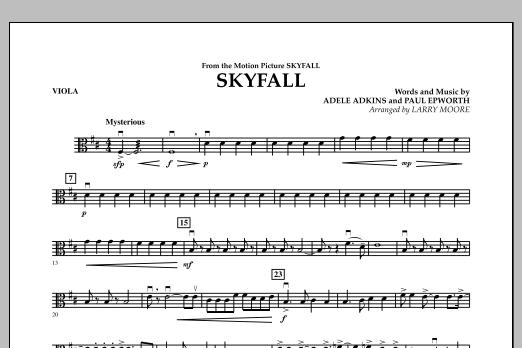 Skyfall - Viola (Orchestra)