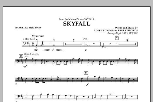 Skyfall - Bass (Orchestra)