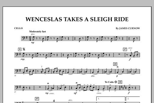 Wenceslas Takes a Sleigh Ride - Cello (Orchestra)