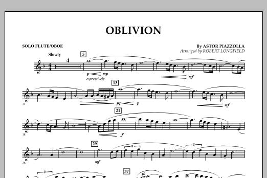 Oblivion - Solo Flute/Oboe (Orchestra)