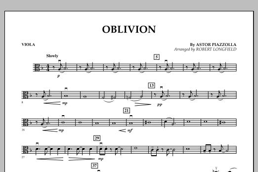 Oblivion - Viola (Orchestra)