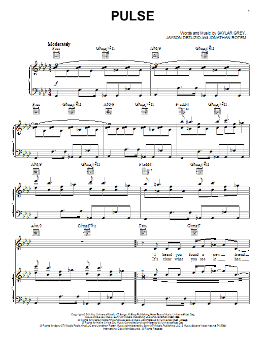 Pulse Sheet Music
