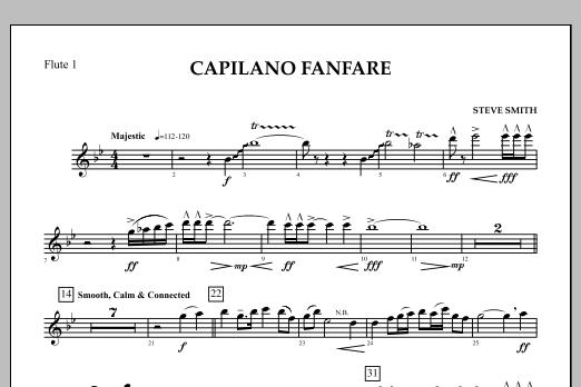 Capilano Fanfare (Digital Only) - Flute 1 (Concert Band)