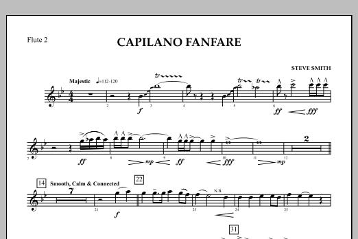 Capilano Fanfare (Digital Only) - Flute 2 (Concert Band)