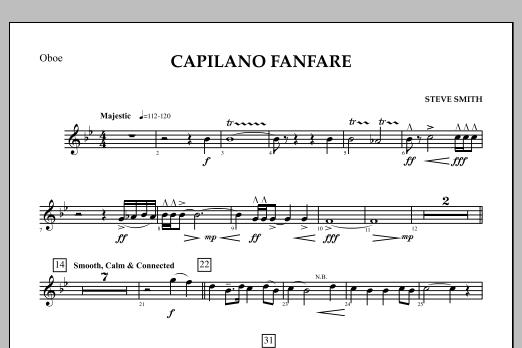 Capilano Fanfare (Digital Only) - Oboe (Concert Band)