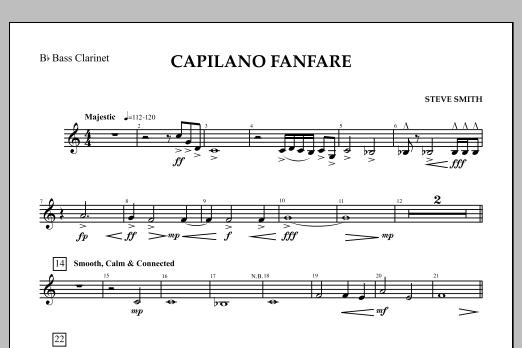 Capilano Fanfare (Digital Only) - Bb Bass Clarinet (Concert Band)