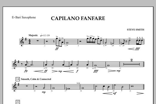 Capilano Fanfare (Digital Only) - Eb Baritone Saxophone (Concert Band)