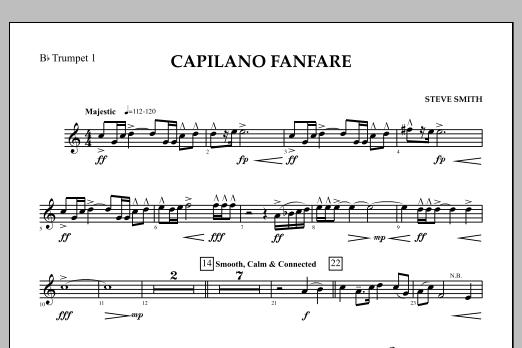 Capilano Fanfare (Digital Only) - Bb Trumpet 1 (Concert Band)