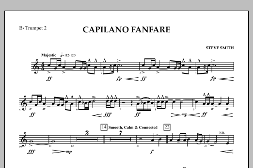 Capilano Fanfare (Digital Only) - Bb Trumpet 2 (Concert Band)