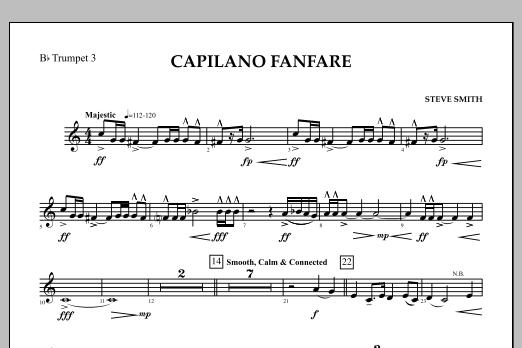 Capilano Fanfare (Digital Only) - Bb Trumpet 3 (Concert Band)
