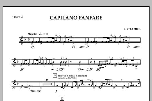 Capilano Fanfare (Digital Only) - F Horn 2 (Concert Band)