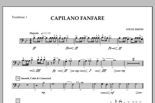 Capilano Fanfare (Digital Only) - Trombone 1 (Concert Band)