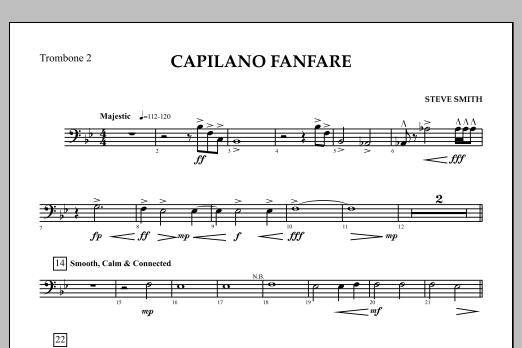 Capilano Fanfare (Digital Only) - Trombone 2 (Concert Band)