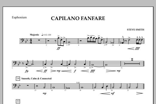 Capilano Fanfare (Digital Only) - Euphonium B.C. (Concert Band)