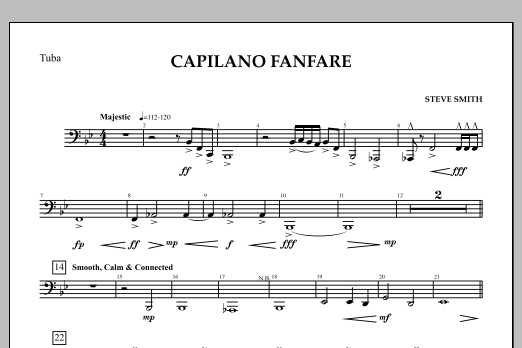 Capilano Fanfare (Digital Only) - Tuba (Concert Band)