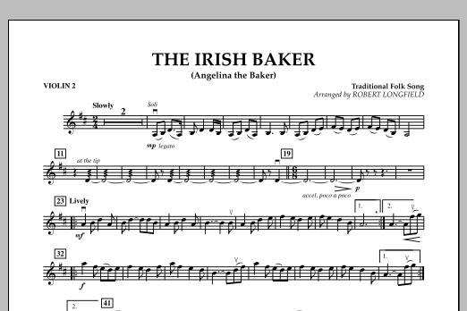 The Irish Baker (Angelina the Baker) - Violin 2 (Orchestra)