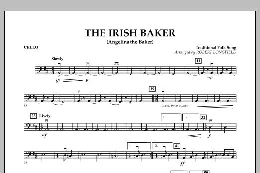 The Irish Baker (Angelina the Baker) - Cello (Orchestra)