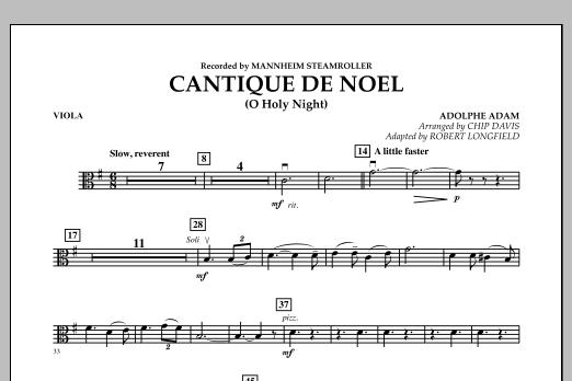 Cantique de Noel (O Holy Night) - Viola (Orchestra)