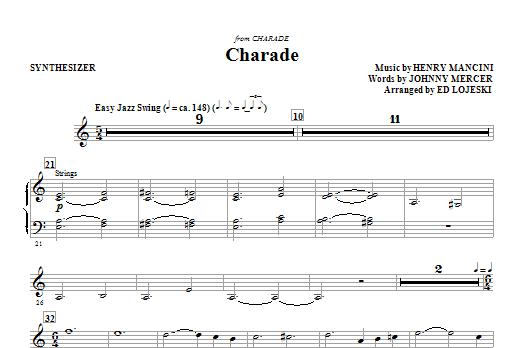 Charade - Synthesizer (Choir Instrumental Pak)