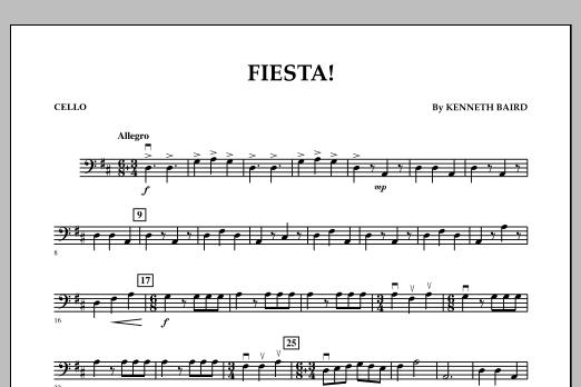 Fiesta - Cello (Orchestra)