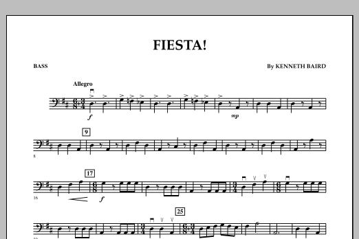 Fiesta - Bass (Orchestra)