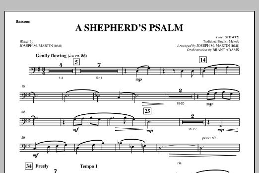 A Shepherd's Psalm - Bassoon (Choir Instrumental Pak)