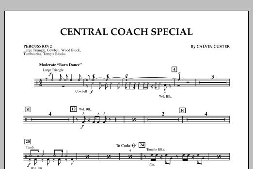 Central Coach Special - Percussion 2 (Orchestra)